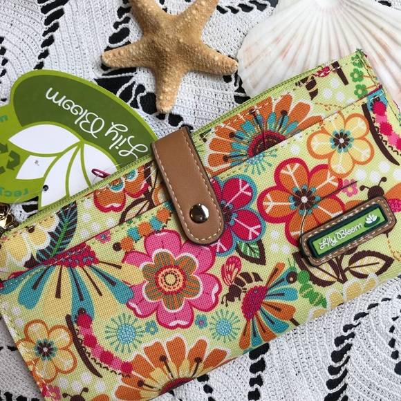 Lily Bloom Busy Bee Wallet